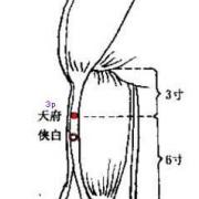 Le 3ème point du méridien du poumon (3P)