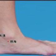 Le point Shui Quan du méridien des reins (5R)
