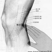 Le point Yin Gu du méridien des reins (10R)