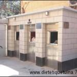 Petite maison pour poubelles
