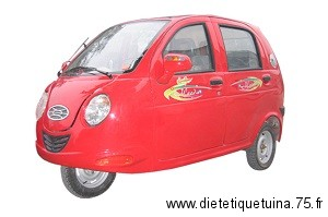 Voiture tricycleen Chine