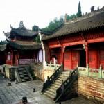 Temple à Wudang Shan