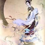 La déesse chinoise Chang'e