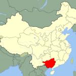 La province du Guangxi
