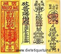 Talismans chinois