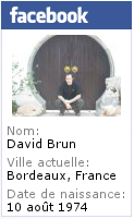 Profil Facebook de David Brun du blog
