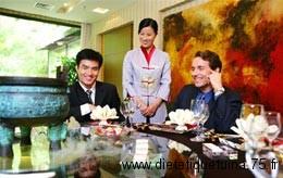 Les long repas de business chinois