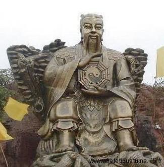 Statue du dieu Fuxi