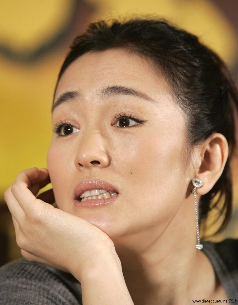 Gong Li l'actrice chinoise