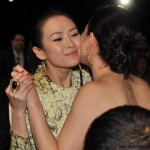 Les actrices chinoises Gong Li et Zhang Ziyi
