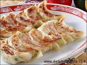 raviolis chinois frits