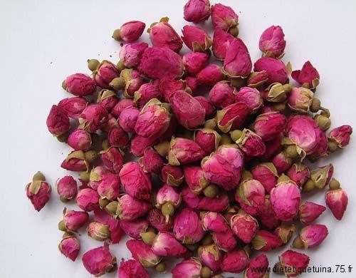 Les boutons de rose en médecine chinoise