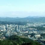 Ville chinoise dans le Hubei