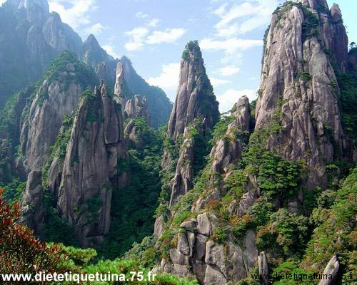 La montagne Song en Chine
