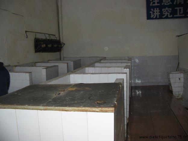 WC publiques Chinois en Chine