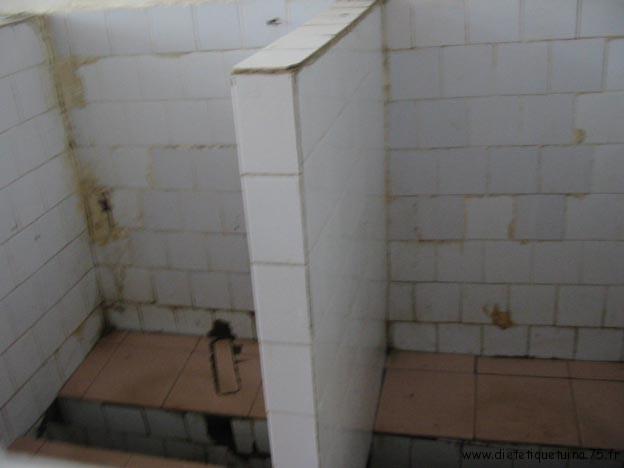 WC publique chinois sans porte
