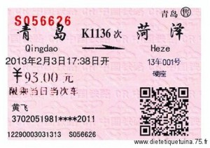 Informations pratiques Chine