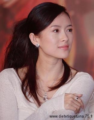 Zhang Ziyi, l'actrice chinoise