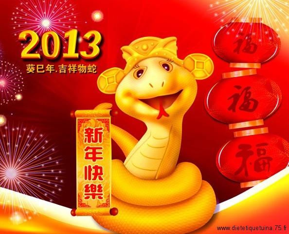 Bonne année chinoise