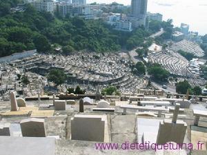 Cimetière en Chine