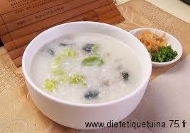gruaux appelé parfois porridges pour la diététique chinoise