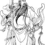Guan Di, aussi appelé Guan Yu