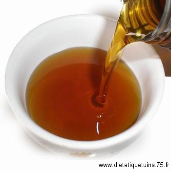 L'huile de sésame chinoise