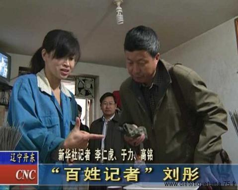 Les journalistes chinois