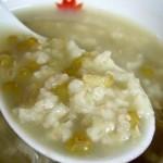Haricots mungo et riz