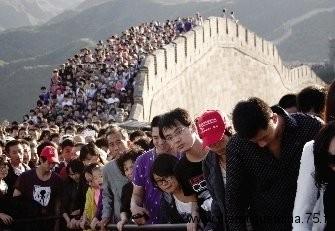 Visite sur la muraille de chine