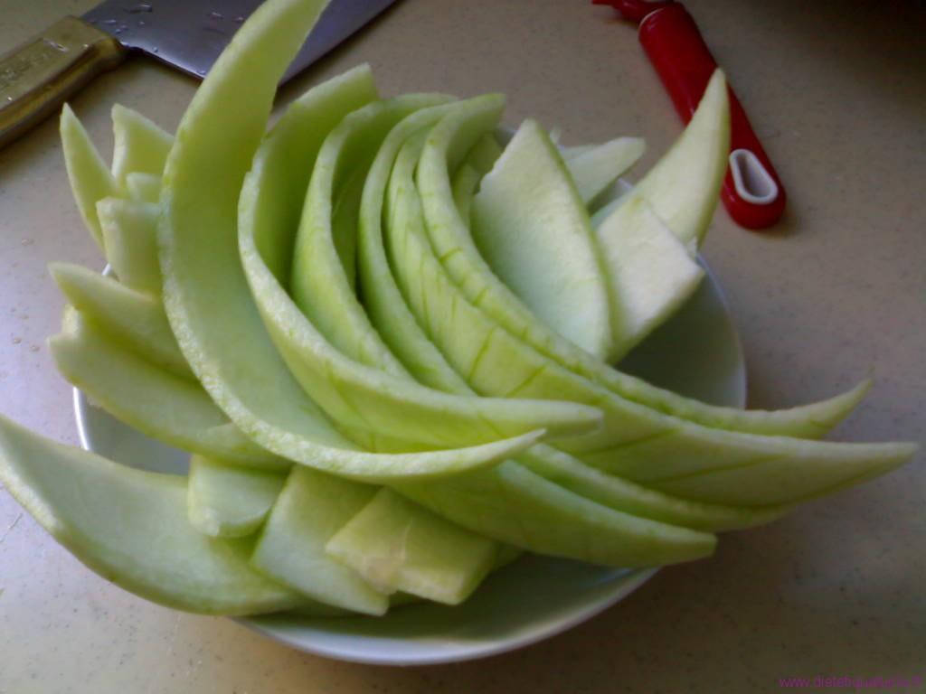 écorce de la pastèque
