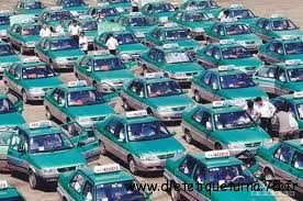 Transport en commun en Chine: les taxis chinois
