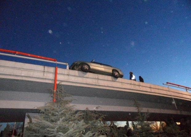 Accident de voiture sur autoroute