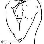 Le point Zhang Men du méridien du foie (13F)